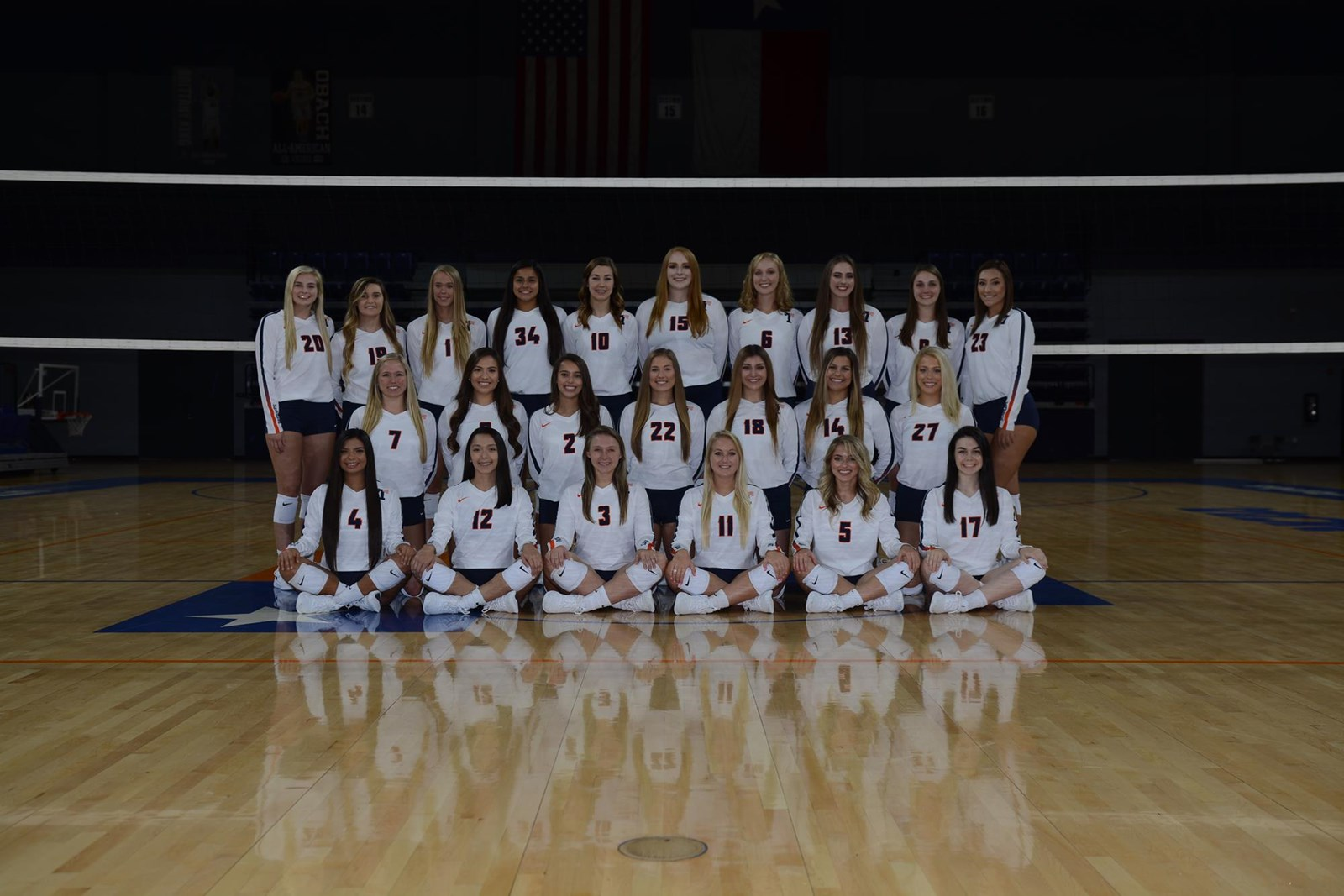 2018 Women S Volleyball Roster University Of Texas At Tyler Athletics